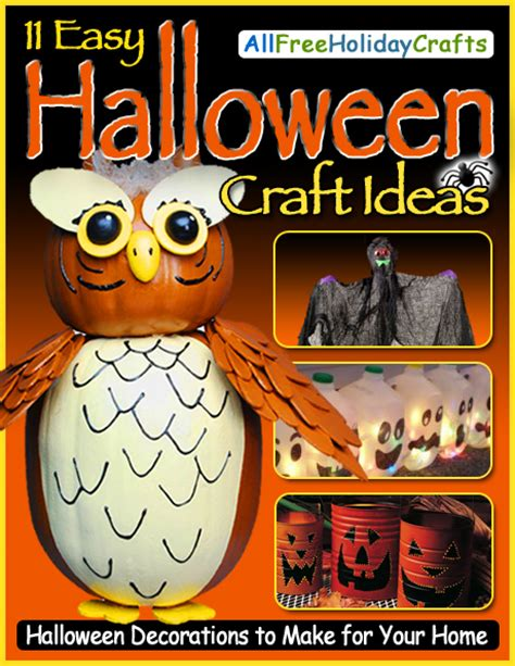 easy halloween decorations to make at home quot 11 easy halloween craft ideas halloween decorations to