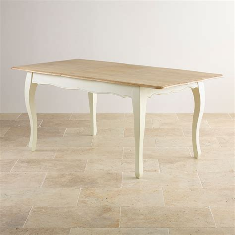 oak extending dining table painted extending dining table in brushed oak
