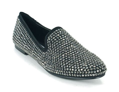 steve madden loafer flats steve madden conncord studded loafers flats black multi