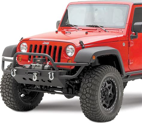 Jeep Front Bumpers 76723 Smittybilt Front Src Bumper With Winch Mount In