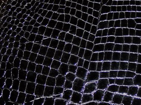 black croc print patent leather swatch