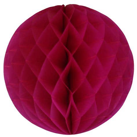 Tissue Paper Balls - tissue paper honeycomb 8inch fuchsia 4pcs