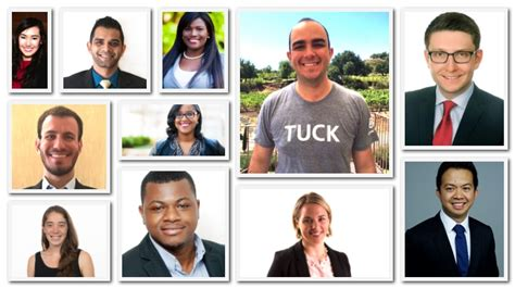 Mba Members List by Meet Dartmouth Tuck S Mba Class Of 2018