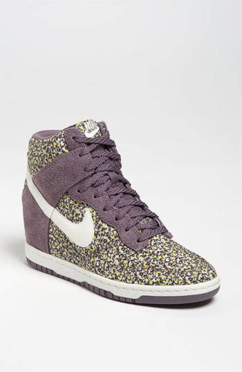 nike wedge sneakers nordstrom nike dunk sky high liberty wedge sneaker