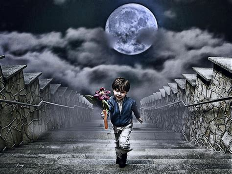 Child And Moon child of the moon photograph by joachim g pinkawa