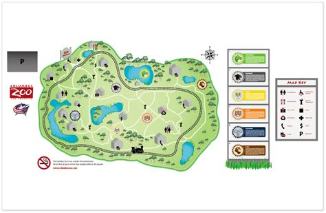 columbus zoo map columbus zoo project by jeffrey schleicher at coroflot