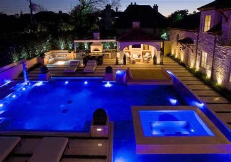 outdoor pool lighting 15 attractive swimming pool lighting ideas