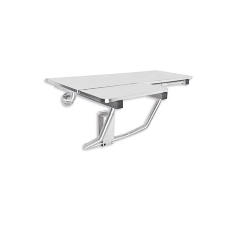 stainless steel shower seat ajw commercial washroom accessories u925 handed surface