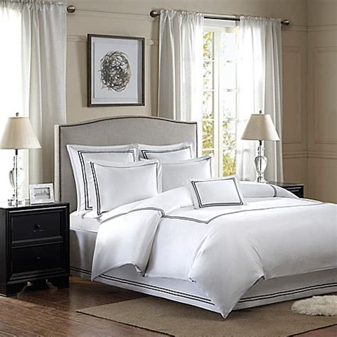 bed skirts and pillow shams buy madison park embroidered queen bed skirt and european