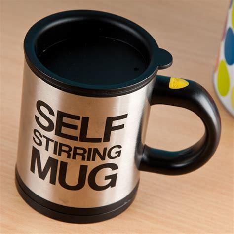Mug Unik Self Steering Mug self stirring lazy mug gettingpersonal co uk