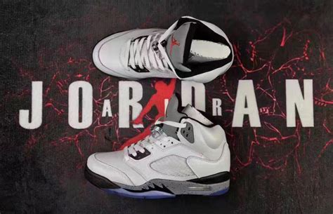 custom sneakers for sale air 5 retro white cement custom shoes for sale