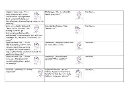 an inspector calls themes worksheet all worksheets 187 an inspector calls worksheets printable