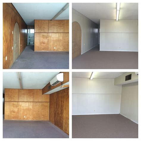 painted wood paneling before after b b 1000 images about before and after on pinterest