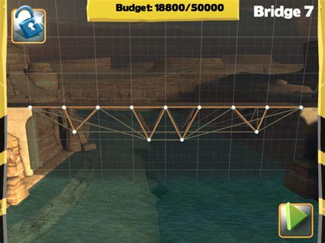 bridget constructor best bridge building game solution for bridge 7 central mainland bridge