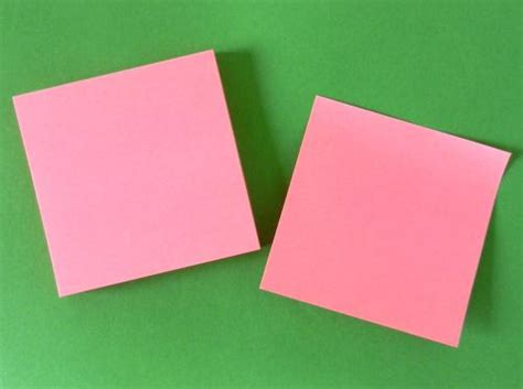 Origami With Post Its - easy origami using post its comot