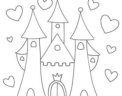 kinderbilder für die wand 2535 marabu window color malvorlage quot schloss quot http marabu