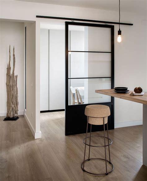 10 Exles Of Barn Doors In Contemporary Kitchens Industrial Closet Doors