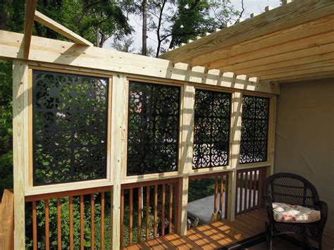 deck privacy screen how to find an ideal one for extra deck privacy panels