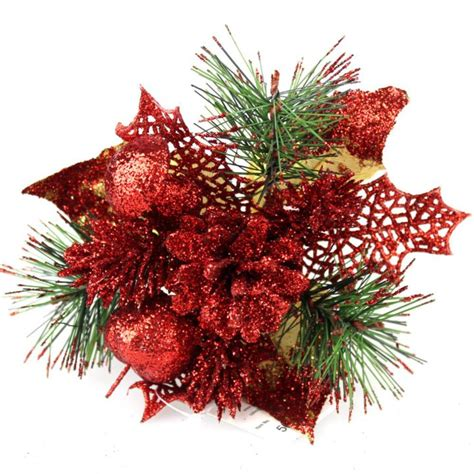 christmas floral picks