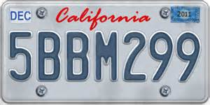 transferring a number plate to a new car california car plate by argjentgigollaj on deviantart