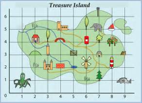 Treasure Map Template Ks1 by Treasure Island Nrich Maths Org