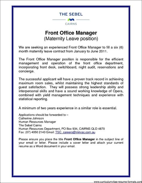 Resume Front Desk Manager Hotel by Front Office Manager Resume Free Sles Exles
