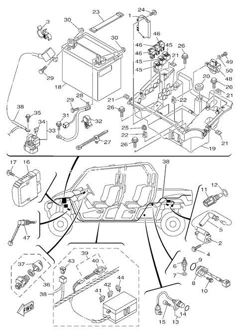 lm wiring diagram  yamaha viking  diagram