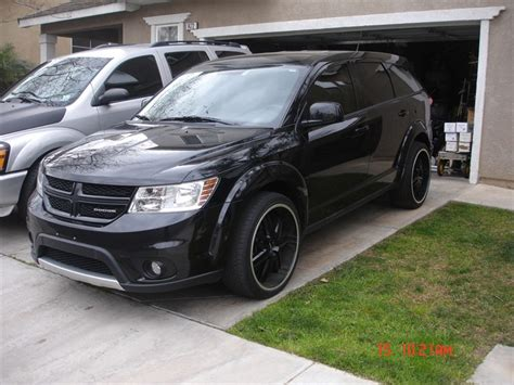 dodge journey black wheels dodge journey price modifications pictures moibibiki