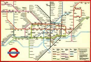London Underground Map (1994) | Map of the London Undergroun ... Underground