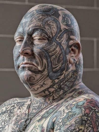 gambar tato tattoo  bagian wajah gambar tips info