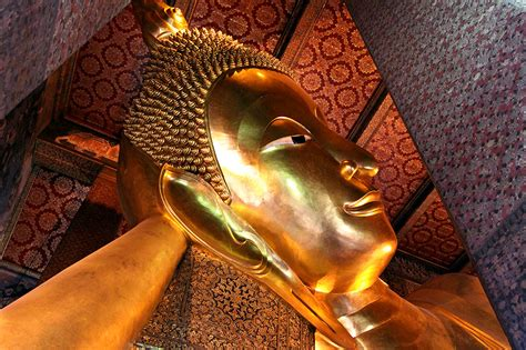 giant reclining buddha bangkok thailand travel photos hey brian
