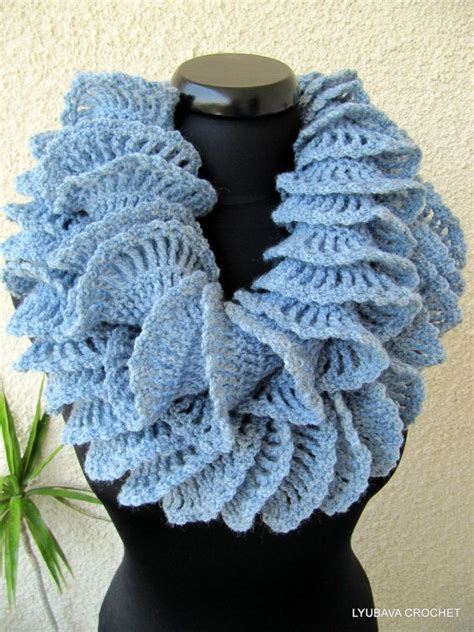 tutorial pashmina ruffle crochet patterns scarves a collection of diy and crafts