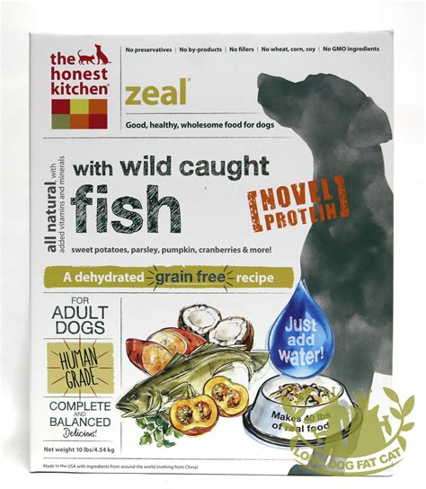 Honest Kitchen Food by Honest Kitchen Freeze Dried Zeal Food White Fish
