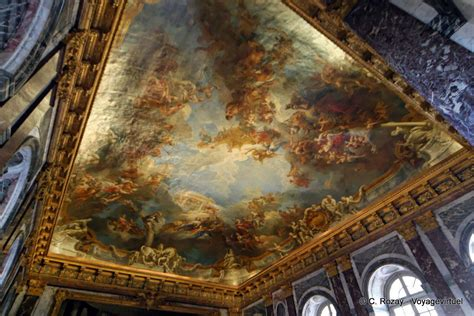 ceiling of the hercules salon versailles