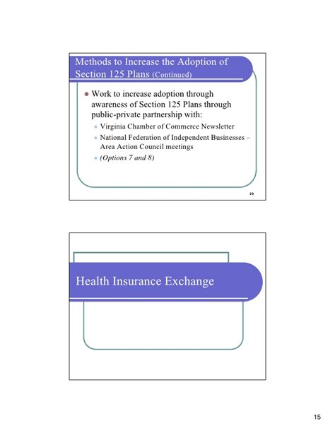 section 125 plan document template analysis section 125 plans and a virginia health insurance
