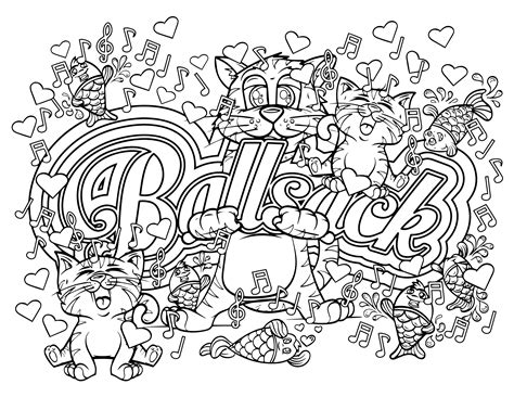 free coloring book pages swear word coloring pages gallery free coloring books