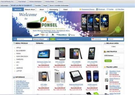 contoh template toko online wordpress menghindari tertipu toko online gadungan dunia digital