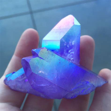 aura crystals purple crystals healing crystals aura quartz titanium