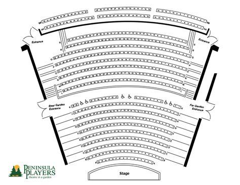 seating map peninsula players