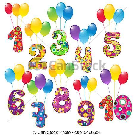 Free cute number clipart 74