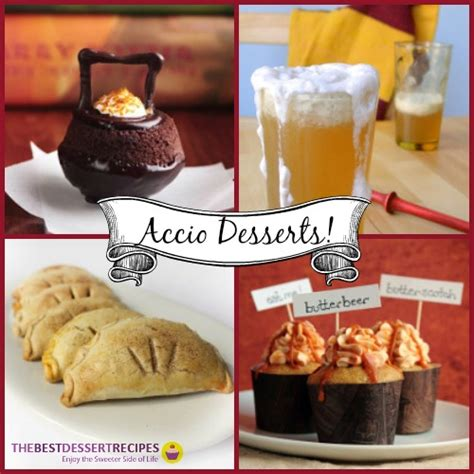 bewitching harry potter recipes to magical dishes to bring the books to books accio desserts 10 magical harry potter recipes