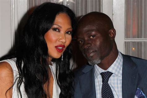 Kimora Simmons New Boyfriend Dijimon Hounsou Snarky Gossip by Author I Up Kimora And Djimon Ny Daily News