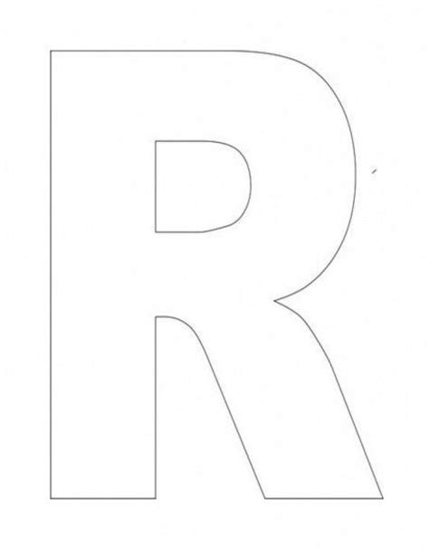 letter r template alphabet letter r template for kids1 crafts for children