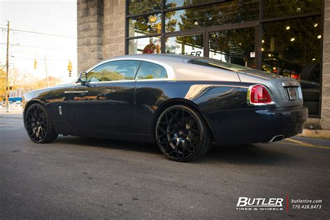 rolls royce wraith modified rolls royce wraith custom wheels forgiato drea cl 24x et