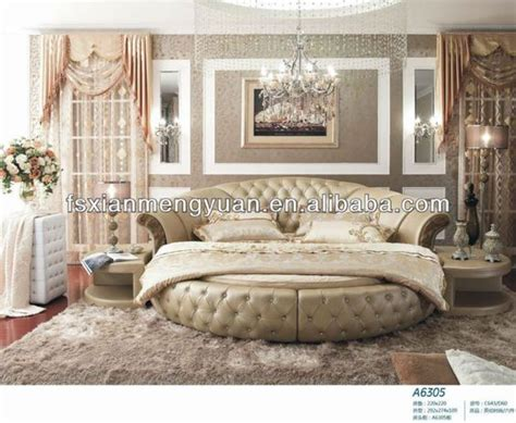 circle beds high quality latest round bed designs a6305 on sale