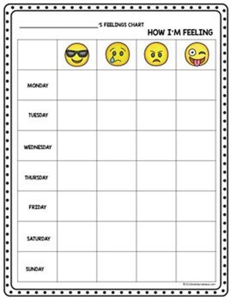 emoji recognition chart social emotional learning emoji feelings recognition
