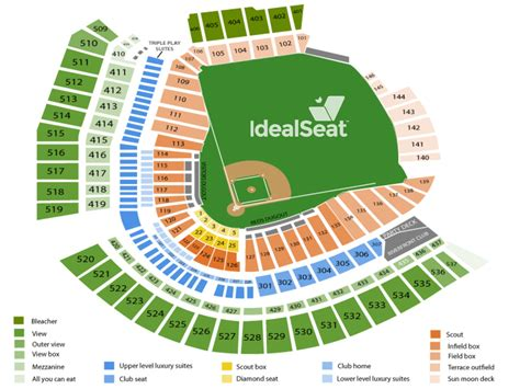 cincinnati reds seating prices cincinnati reds seating chart great american park