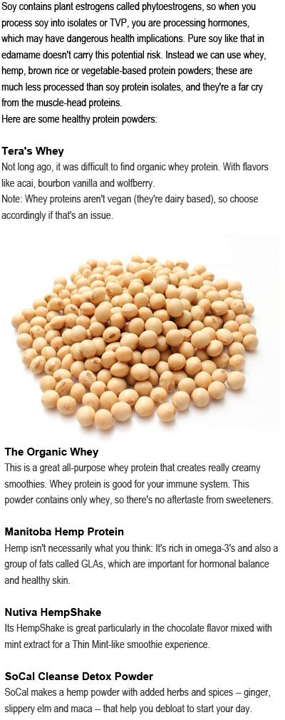 protein without protein powder without soy health for all