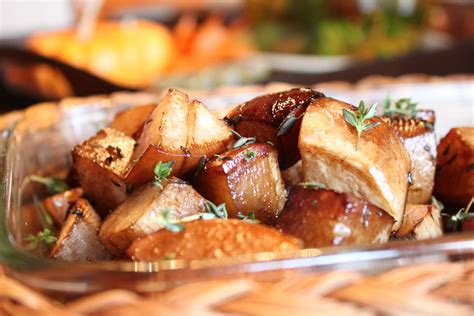 Oven Roasted Root Vegetables Balsamic - cooking with elise balsamic roasted turnips and thyme