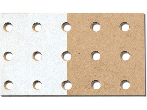 hdf lochplatte hdf rundloch einseitig wei 223 im zuschnitt kaufen modulor
